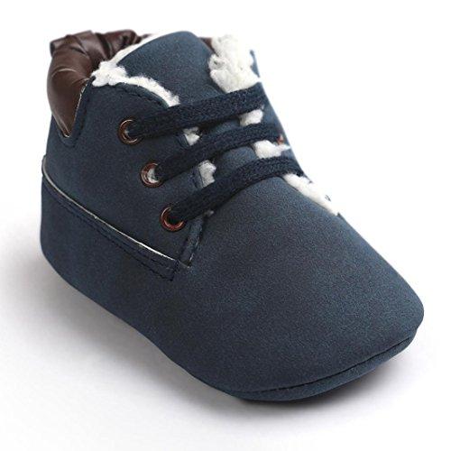 Chaussures de bébé,Fulltime® Bébé Tout Doux Sole Chaussures en cuir tout-petits