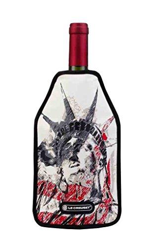 Le Creuset 59142421036068 Wein Accessoires WA-129 Aktiv Weinkühler, Plastic