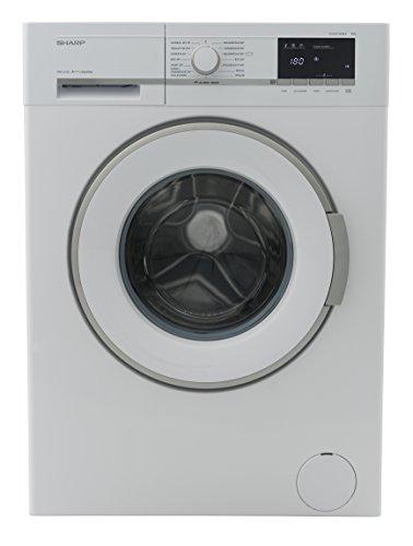 Sharp ES-GFB7143W3-DE Waschmaschine Frontlader / A+++ / 7 kg / 1400 U/min. / 15 Programme / 15 Min. Kurzprogramm / AllergySmart / Startzeitvorwahl 23 Stunden / AquaStop / Kindersicherung