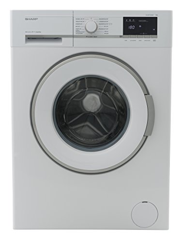Sharp ES-GFB7143W3-DE Waschmaschine Frontlader / A+++ / 1400 UpM / 7 kg / Weiß / AquaStop / 15 verschiedene Programme [Energieklasse A+++]