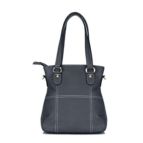 Aretha donne designer borse fashion qualità borsa in vera pelle, lavoro Tote, Borse a spalla, Borse a Tracolla a Croce, Casual, per ogni giorno ufficio Shopping 151041BL