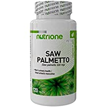 Nutrione - Saw palmetto - 120 tabletas