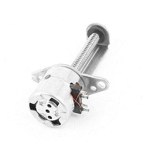 15mm x 2mm Schraubenwelle 2 Draht der Phase 4 Micro-Schritt-Schrittmotor DC 3-6V -