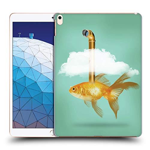 fizielle Vin Zzep Periskop Goldfisch Fisch Harte Rueckseiten Huelle kompatibel mit iPad Air (2019) ()