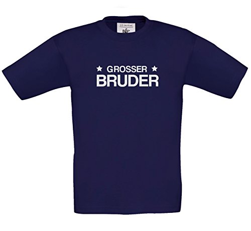 4YourShirt Grosser Bruder Dblau 98-104