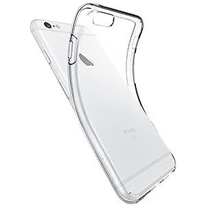 Coque iPhone 6s, Spigen® Coque iPhone 6, iPhone 6s Coque [ Liquid Crystal ] Housse Etui TPU Silicone Clair Transparente Ultra Mince Premium Slicone Gel transparent / une Adhrence exacte / Sans Encombrement Douce Coque pour iPhone 6 - Liquid Crystal (SGP11596)