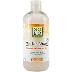 SO'BiO étic Acqua micellare, al latte d'asina, bio, 500 ml