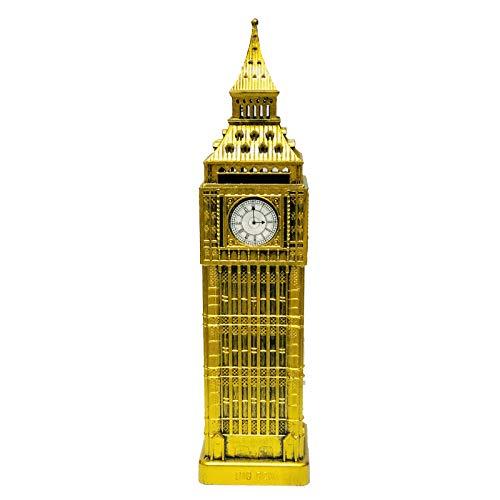 London Big Ben Souvenir Spardose Große von Metall und Kunststoff