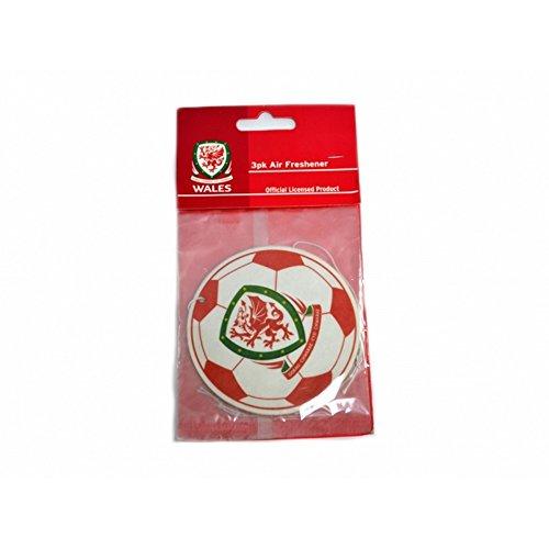 Wales Fußball offizieller Auto-Lufterfrischer (Einheitsgröße) (Weiß/Rot/Grün)