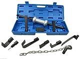 Das 13-teilige Dent Abzieher Universal-Werkzeug 4,5kg Slide Hammer Auto Body Repair Werkzeug Set