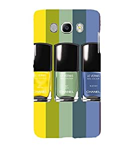 Printvisa Nail Polishes In A Pattern Back Case Cover for Samsung Galaxy J7 (2016)::Samsung J710F