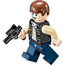 LEGO Star Wars Minifigure Han Solo with Blaster Mos Eisley Cantina (75052) by LEGO