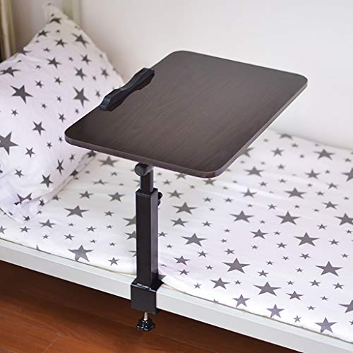 Klapptisch |Laptop Tisch |fauler Schreibtisch Im Schlafsaal |Schlafzimmertisch (Color : Black)