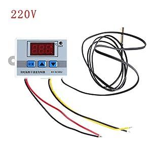 Termostato digital LED de 220 V con interruptor de sonda Sens
