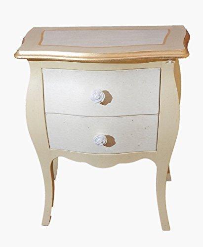Meuble en bois made in italy Pame raffinée, élégante, sobre. Adapté à multiples usages: Meuble de chambre à coucher, meuble salon, meuble meuble d'entrée comme appoggiatutto. L50x P30x H60