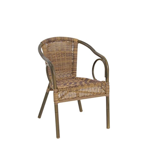 Chaises empilable Accoudoirs