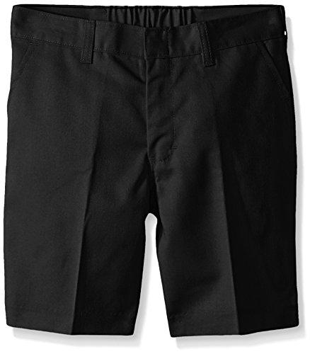 Dickies - - 54-062 Jungen Flat Front Short (Husky Größen), 20, Black (Husky Jungen Shorts)