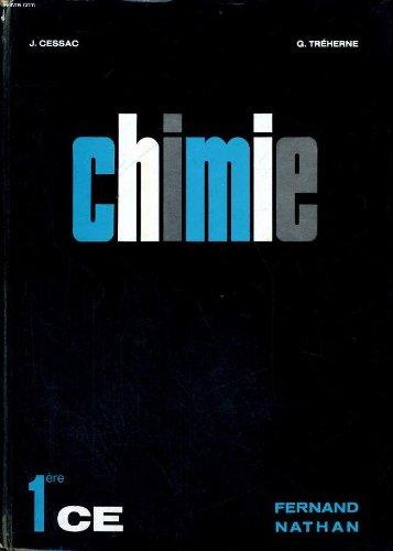 Chimie classes de premiere ce - programme 1966