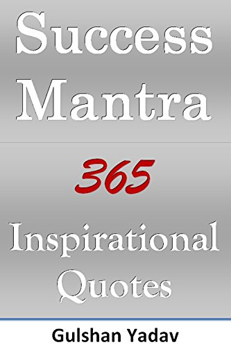 Everyday Quotes | Success Mantra 365 Inspirational Quotes Everyday Motivation
