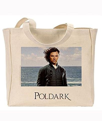 Offizielles poldark Merchandise wiederverwendbar Umweltfreundlich Seitenfalte Canvas Tasche Ross von Wind