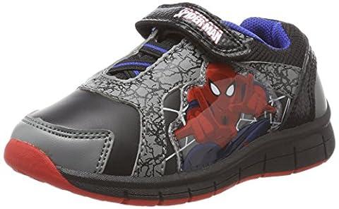 Spiderman Jungen SP004650 Sneaker, Grau (Pewter/Black/Black/Black), 26 EU