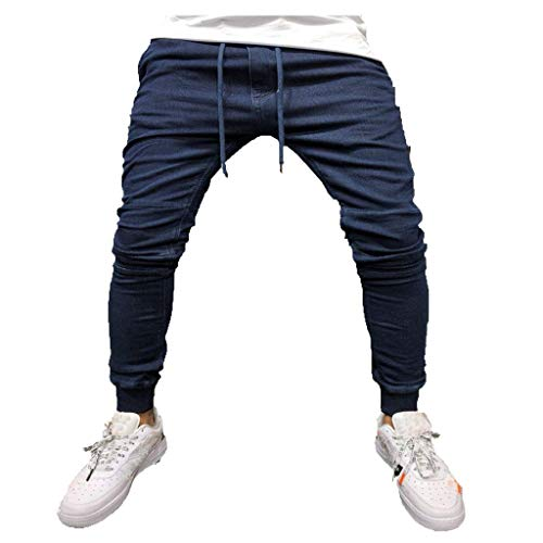 Auiyut Herren Cargo Hose ogger Chino Hose Pants Jeans Skinny Fit Fitness Sport Trekking Stretch Freitzeithose Streetwear Hosen Jogging Sweat Hosen Regular Fit