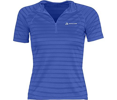 Bergson Damen Fahrradtrikot CORIN, dazzling blue [320], 48 - Damen