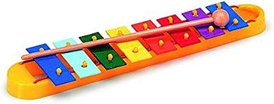 Notas de colores Gitre metalófono diatónica 740 8