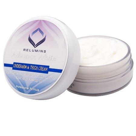 Relumins Unterarm und innere Oberschenkel-Creme - für schwer zu weiß Bereiche gemacht - Achseln, Oberschenkel, Ellbogen, Knie, Bikini &...