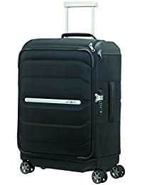 Valise cabine souple Samsonite Flux Soft 56 cm Noir WQPYgV6vMe