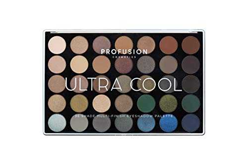 Profusion Cosmetics Master Artistry Anzeige 35 Multi-Finish-Farbpalette, Ultra Cool - Multi-make-up-palette