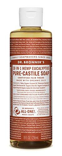 Dr Bronner Organic Eucalyptus Castile Liquid Soap 237 ml