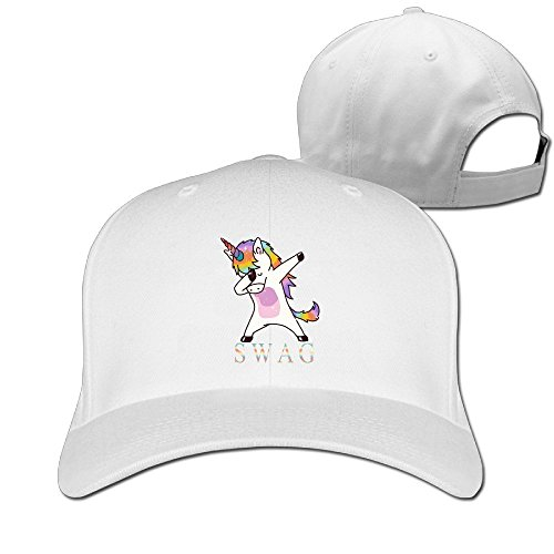 Unisex Adult Swag Dabbing Unicorn Baseball Cap Adjustable Snapback Hat