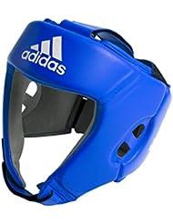 adidas AIBA estilo–Protector de cabeza de entrenamiento azul