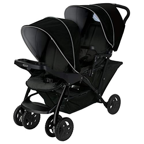 c4844cc36 Graco Stadium Duo Click Connect - Silla de paseo, color gris/negro