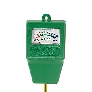 ALL-SUN Bodentester Feuchtigkeitssensor Moisture Sensor Meter Messgerät für Pflanzenerde, Garten, Bauernhof, Rasen, drinnen und draußen Keine Batterien
