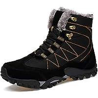 tqgold Winterschuhe Herren Damen Winterstiefel Warm Gefüttert Schneestiefel Wasserdicht Trekking Wanderschuhe Outdoor Stiefel Boots
