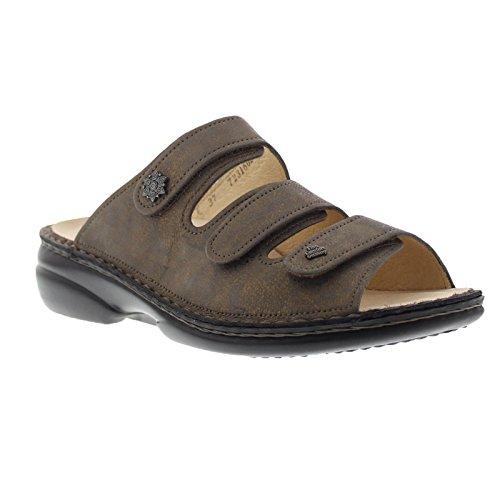 Finn Comfort Womens Menorca Bronze Leather Sandals 40 EU