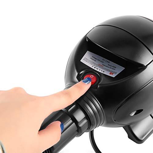 Dailyinshop Compressore dAria Pompa di gonfiaggio ad Aria compressa elettrica Palle da Ginnastica Pompa dAria elettrica per gonfiare//sgonfiare Il Nero Spina Europea