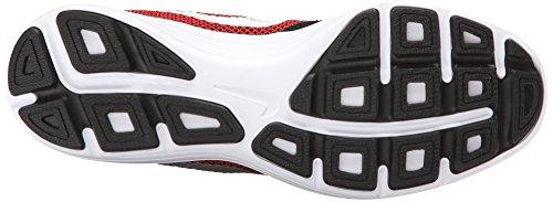 Nike Revolution 3, Running Homme Rouge (University Red/Metallic Silver Black White)