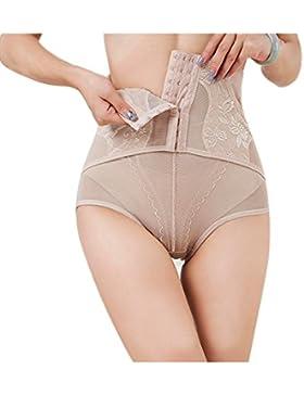 DYLH Damen Miederslip Taillenmieder Strafft effektiv mit Bauch-weg-Effekt Shapewear Cincher Underbust Miederpants...