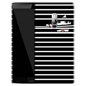 Theskinmantra Girl Behind the bars Back Cover for Oneplus 2