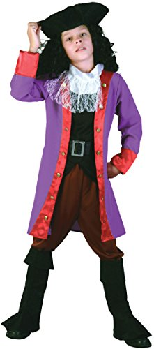Piraten Hook - Peter Pan - Kinder Kostüm - 110cm bis 122cm