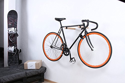 fahrrad wandhalterung copenhagen hochwertige holz st be um das fahrrad an der wand zu. Black Bedroom Furniture Sets. Home Design Ideas
