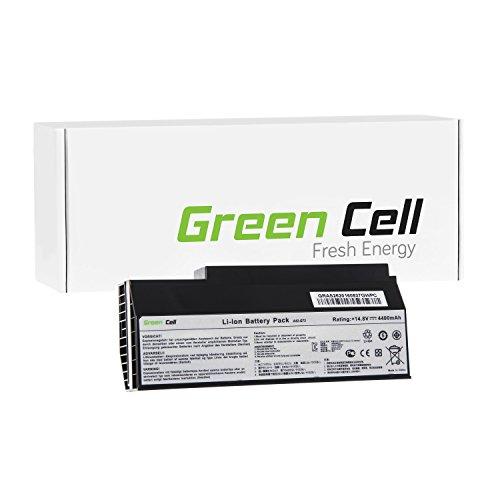 Green Cell® A42-G53 A42-G73 Laptop Akku für Asus G53 G53J G53JW G53S G53SW G53SX G73 G73J G73JH G73JW (8 Zellen 4400mAh 14.8V Schwarz)