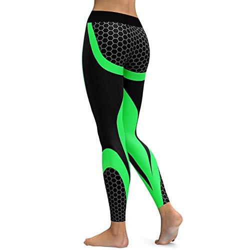 Feidaeu Frauen Fitness Yoga Hosen Honeycomb Carbon elastisch schnell trocken bequem atmungsaktiv Anti-Shrink dünne Hosen