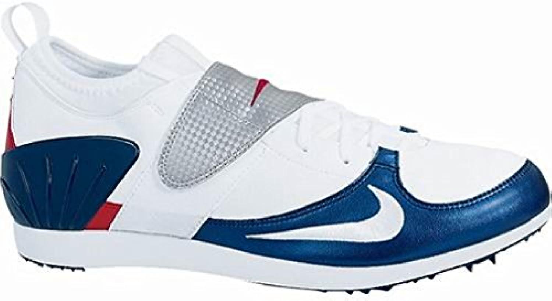 Nike - Zapatillas de atletismo para hombre blanco blanco