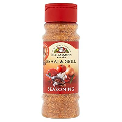 Ina Paarman Braai and Grill Seasoning 200ml - South African Spices - BBQ Seasoning from Paarmans food