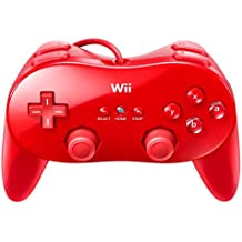 Nintendo Wii - Classic Controller Pro, rot