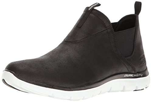 Skechers Flex Appeal 2.0 Done Deal Turnschuhe der Frauen Memory Foam-Black-36